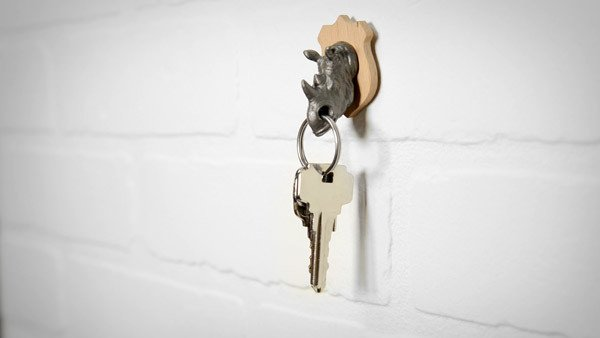Suck UK Rhino Magnetic Key Holder