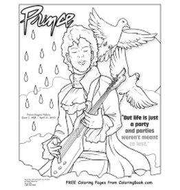 Ingram Publisher Prince Coloring Book