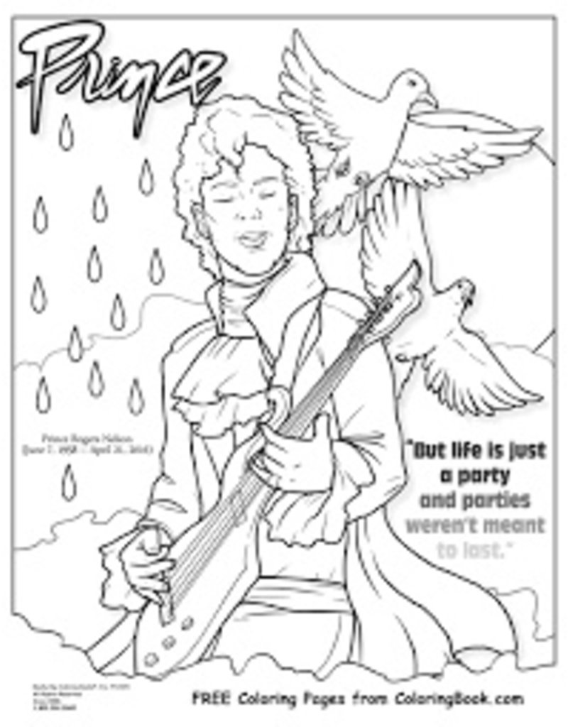 Ingram Publisher Prince Coloring Book