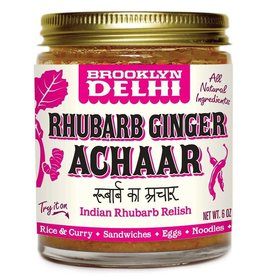 Brooklyn Delhi Brooklyn Achaar 6oz Rhubarb Ginger