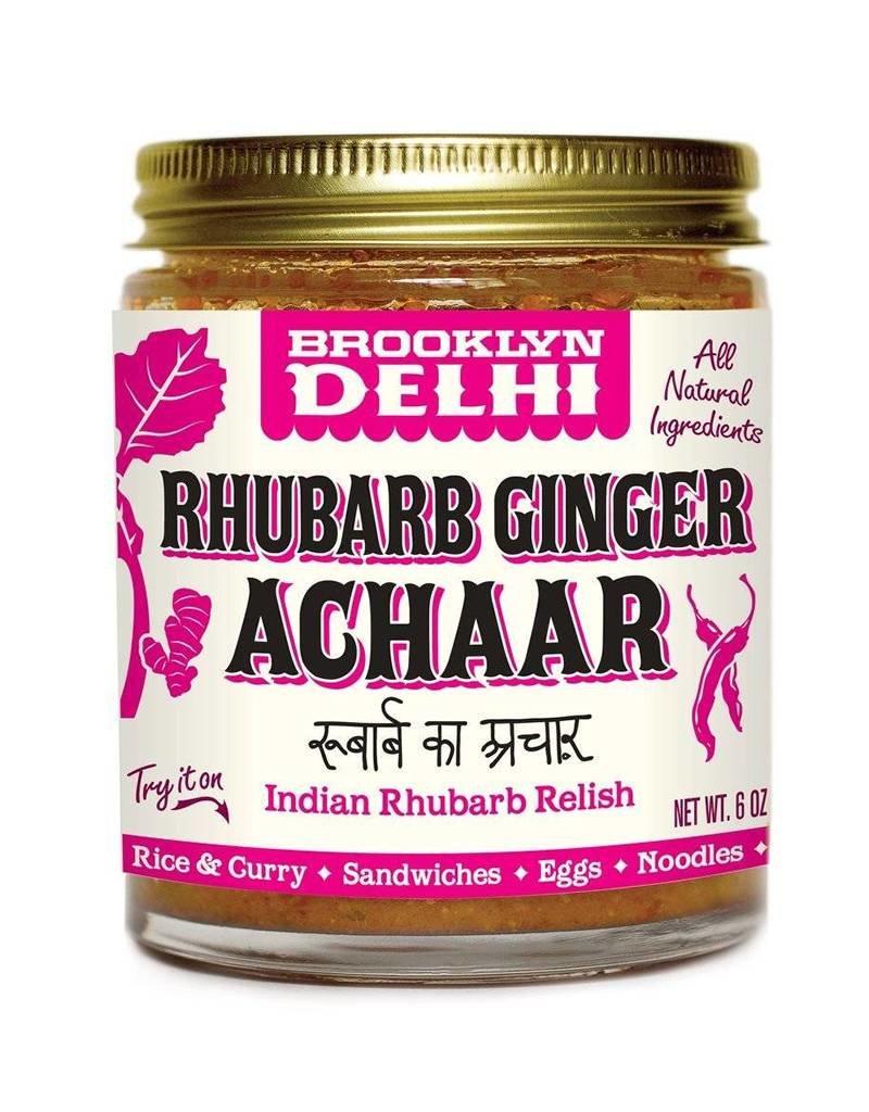 Brooklyn Delhi Brooklyn Achaar 6oz Rhubarb Ginger