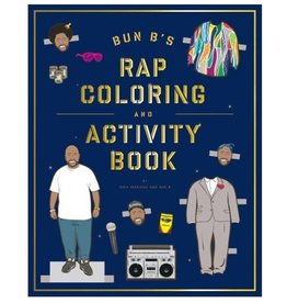 Abrams Bun B's Rapper Coloring Book