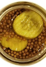 Maple Bourbon Bread and Butter Pickle