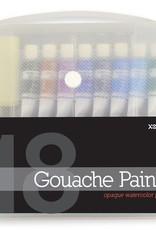 18 Gouache Paints
