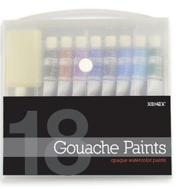 18 Gouache Paints