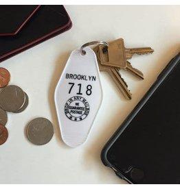 Motel Key Tag Brooklyn