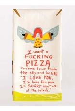 Blue Q F*cking Pizza Dish Towel