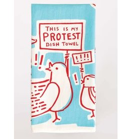 Blue Q Blue Q Dish Towel This is my Protest