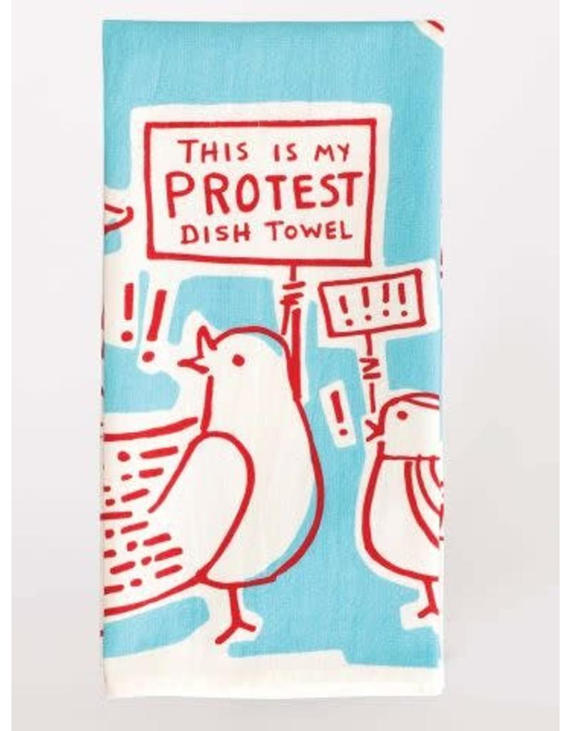 Blue Q This is my Protest Dish Towel