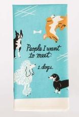 Blue Q Blue Q Dish Towel People to Meet: Dog