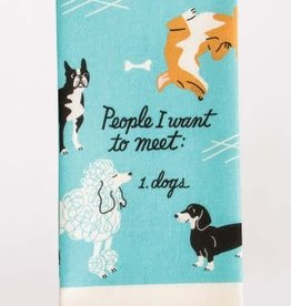Blue Q Blue Q Dish Towel People to Meet: Dog