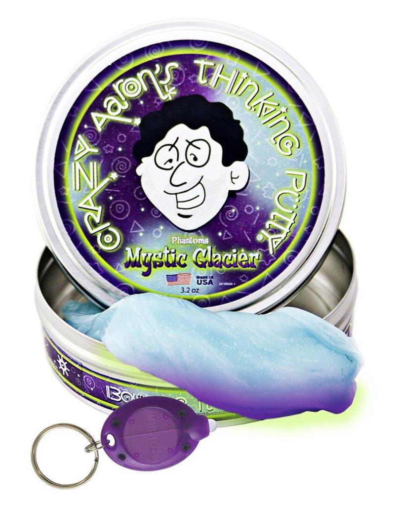 Crazy Aaron's Thinking Putty Mystic Glacier