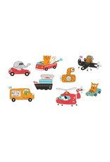 Tattly Tattly Pack Animal Driver Set