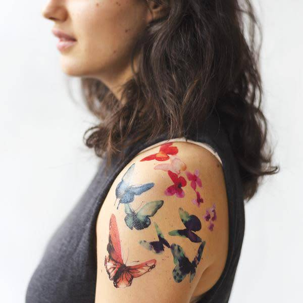 Tattly Tattly Pack Watercolor Butterfly