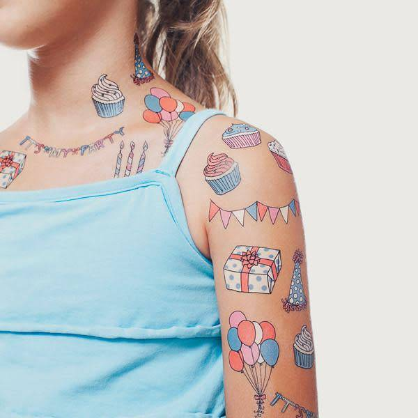 Tattly Tattly Pack Party Set