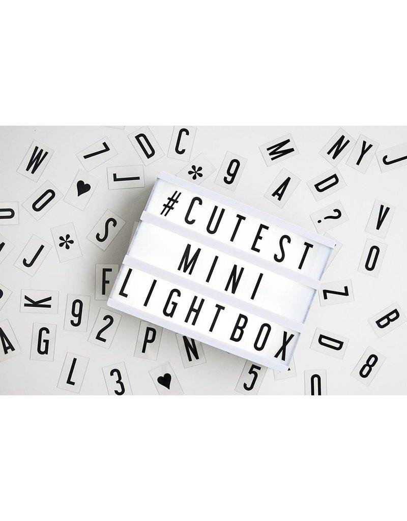 Nuop Design Marquee Light Box- small 6x8 color