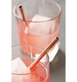 W & P Designs Metal Straws Copper 5 ""