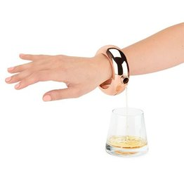 True Fabrications Rose Gold Bracelet Flask
