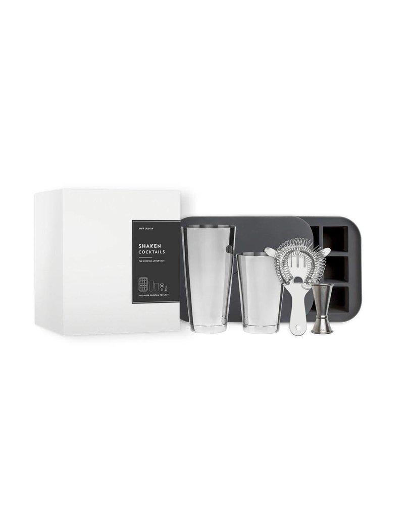 W & P Designs Shaken Cocktail Set