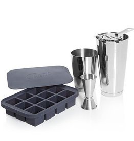 W & P Designs Shaken Cocktail Set
