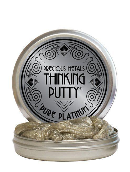 Crazy Aaron's Thinking Putty Pure Platinum