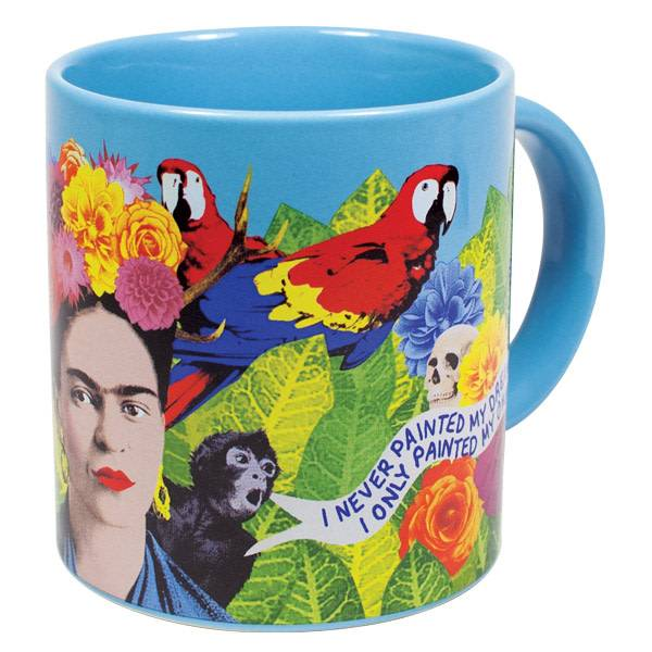 Unemployed Philosophers Guild Unemployed Mug Frida Kahlo