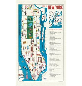 Vintage New York Tea Towel