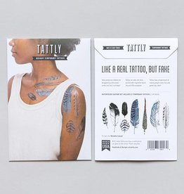 Tattly Tattly Pack Feather