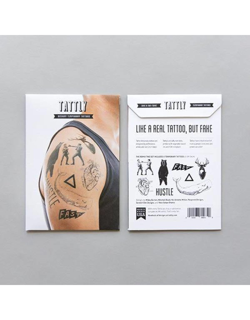 Tattly Tattly Pack Remix Two