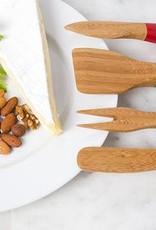 BAMBOO CHEESE KNIVES
