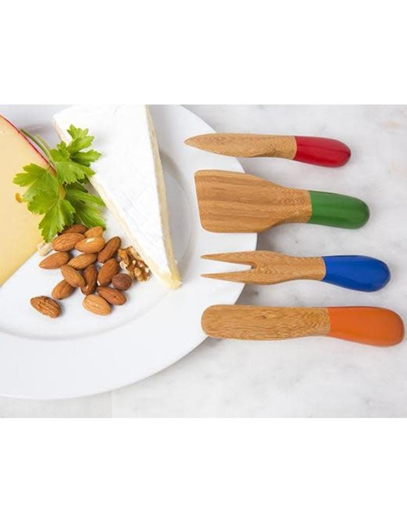 BAMBOO CHEESE KNIVES