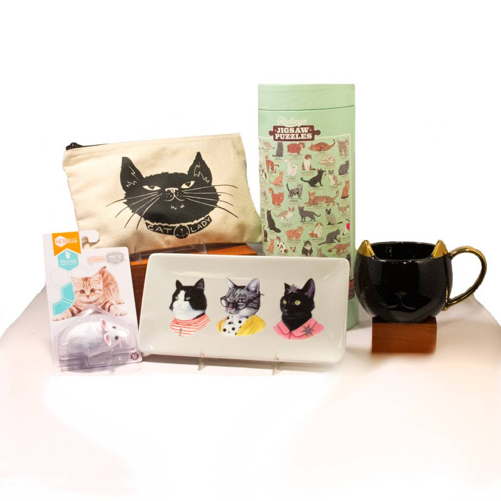 Crazy Cat Gift Box