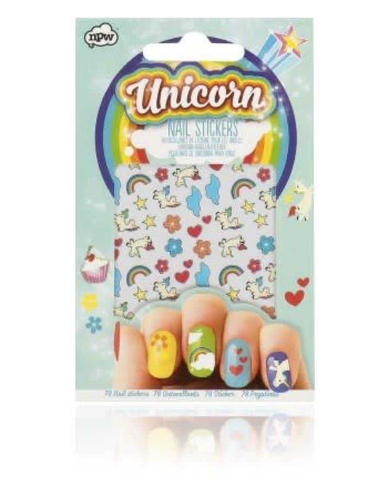 NPW Unicorn Nail Stickers