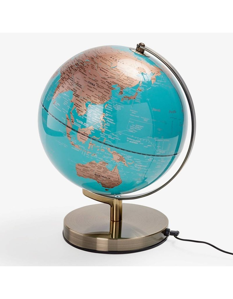 Wild & Wolf Globe Light Blue