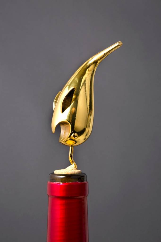 Golden Narwhal Corkscrew