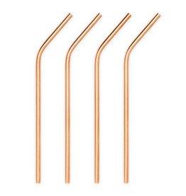 True Fabrications Summit™ Copper Cocktail Straws