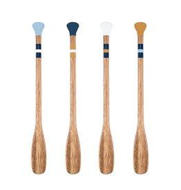 True Fabrications Acacia Wood Paddle Stir Sticks