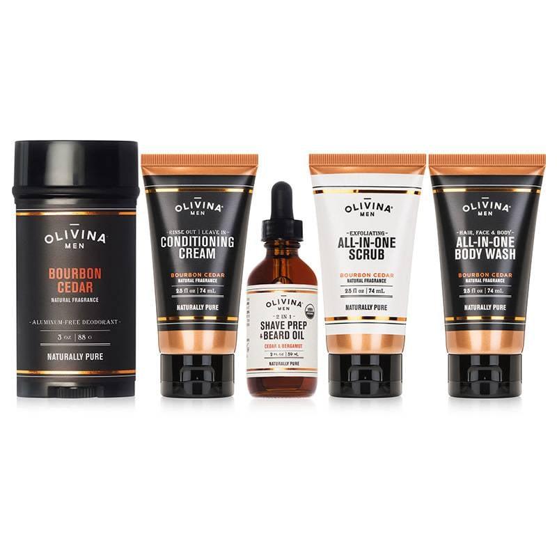 Men's Natural Grooming Essential Kit