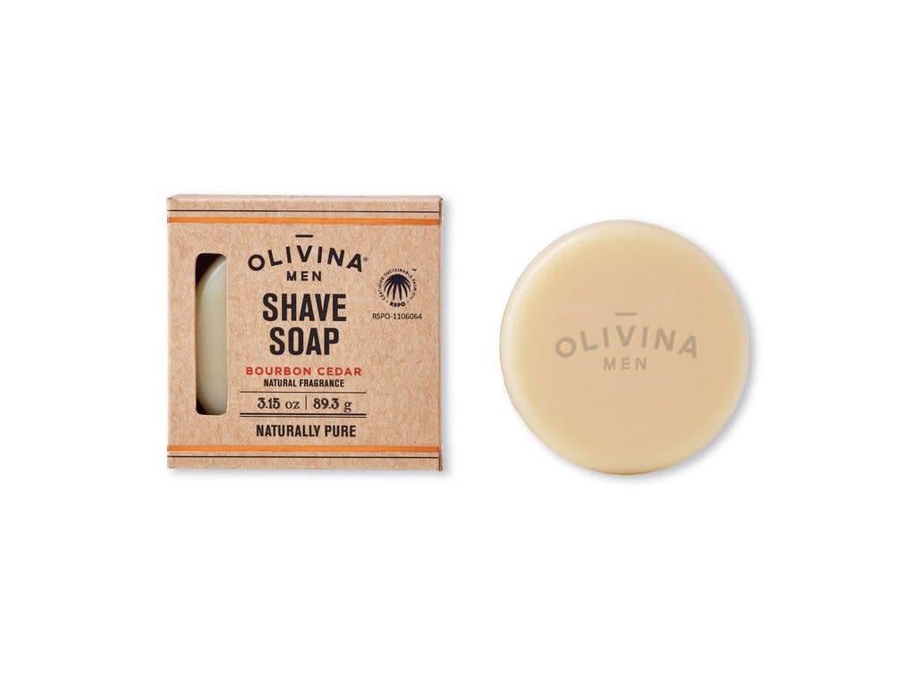 Shave Soap - Bourbon Cedar