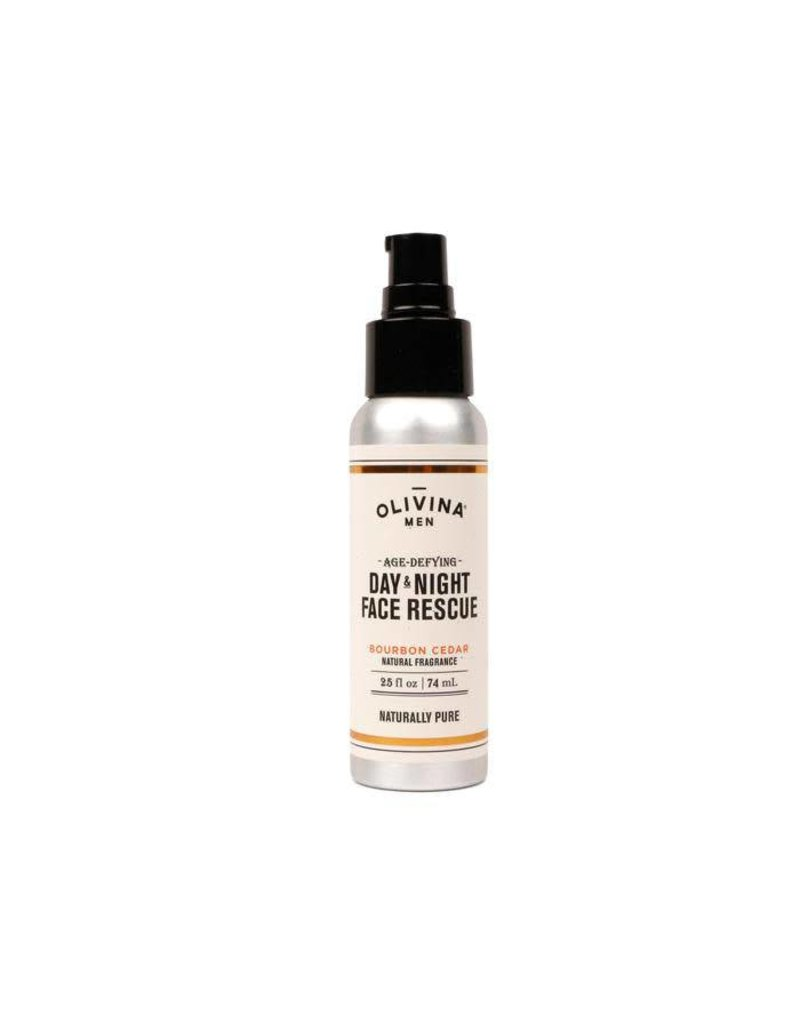 Olivina Men Face Rescue - Bourbon Cedar