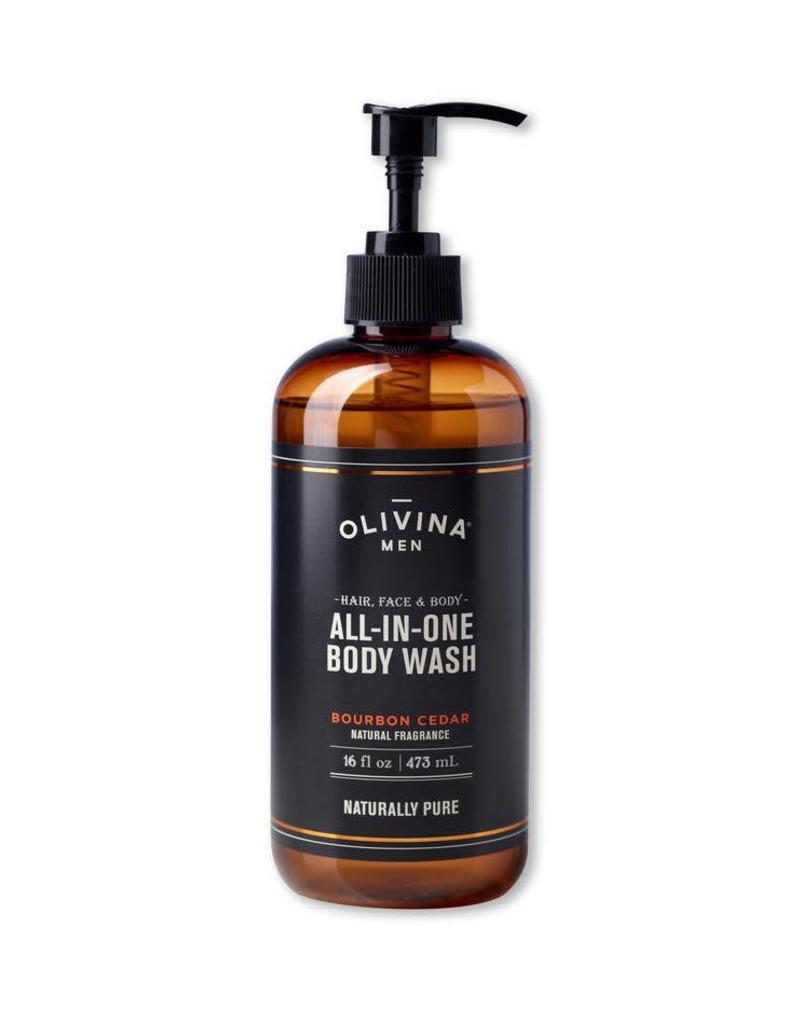 Olivina Men Multi Purpose Body Wash