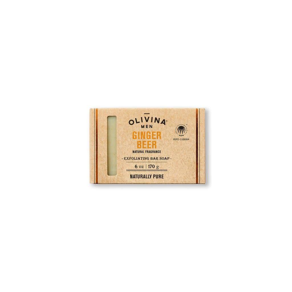 Olivina Men Ginger Beer Soap Bar