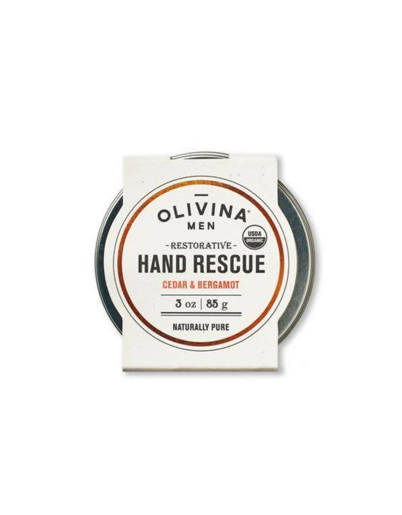 Olivina Men Olivina Hand Salve Cedar & Bergamot