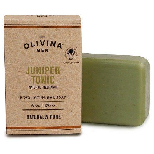 Olivina Men Juniper Tonic Soap Bar