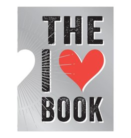 I Heart Book (die cut)