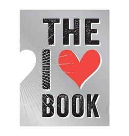 I Heart Book (die cut)