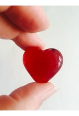 Glass Hearts (red)