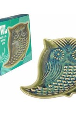 Owl Garlic Grate and Oil Dish