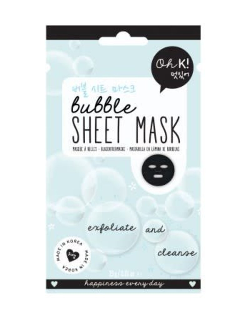 NPW Oh K Bubble Sheet Mask