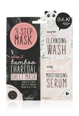 NPW Oh K! 3-Step Charcoal Mask